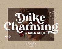 Unique Bold Serif