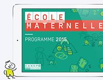 Ecole maternelle, programme 2015