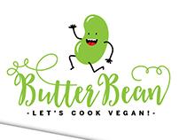 Butterbean Vegan Recipe Box Branding