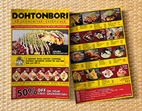 Dohtonbori Philippines: Bounce Back Flier Design