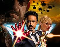 """Iron Man 3"" Alternative Movie Posters"