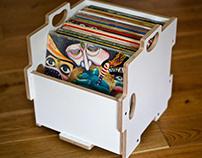 (2018) Korob modular record storage / hifi furniture