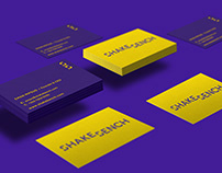 SHAKE BENCH - case study & rebranding project