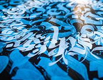 Lettering | Calligraphic Mandala