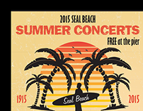 Marketing Materials: Seal Beach Summer Concerts