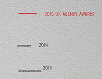 One Minute Briefs - UK Agency Awards