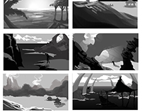 Initial environment concepting