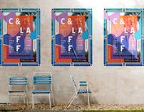 CARIBBEAN & LATIN AMERICAN FILM FESTIVAL POSTER