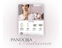Pandora Autumn Onlne Campaign