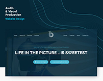 Audio & Visual Production WEB DESIGN