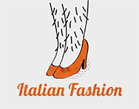 Italian Fashion // Spot Illustration