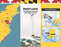 Maryland Energy Administration Three Panel Display