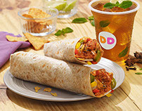 Dunkin' Donuts Wicked Wraps