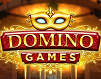 """UI Design """"DOMINO Games"""""""