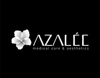 AZALEE medical care & aesthetics, branding