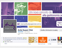 Facebook Cover - Andy Supper Club