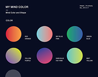 Mind Color and Shape Poster