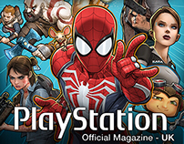 Official Playstation Magazine (UK) Cover Art