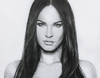 Portret Megan Fox