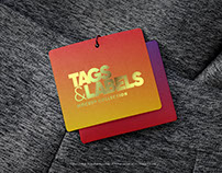 Tag Template PSD Mock up
