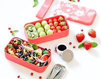 Art direction and food photographyfor monbento®
