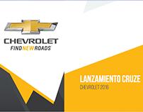 Chevrolet / Lanzamiento Cruze 2016 / Licitación