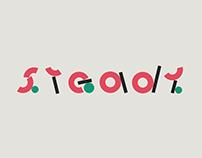 Steady - a little playful font concept