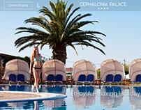 Hotel Website - Mockup