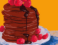 LowCarb Backen - Illustrationen für Kochbuch No. 3