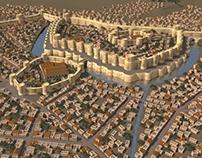 3D model of ancient capital city of Armenia - Dvin