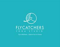 Flycatchers Yoga Studio Logo Design