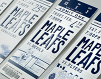 Toronto Maple Leafs 2015-16 Season Ticket Package