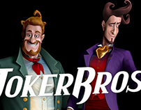 Joker Bros — two characters