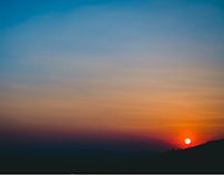 Sunset at Zacatecas