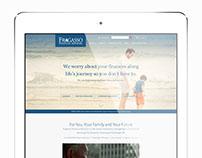 Fragasso website redesign