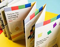 History of Graphic Design: Leo Lionni Accordion Book