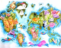 Earth Day Exhibit Piece