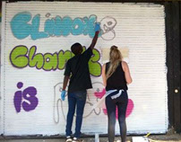 350.org Graffiti Workshop