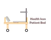 bix box studio - patient bed Health Icon