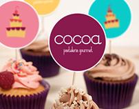Identidad Corporativa - Pastelería gourmet COCOA