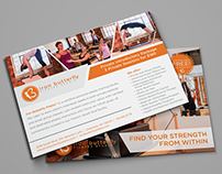 Iron Butterfly Pilates | Flyer & Apparel Design