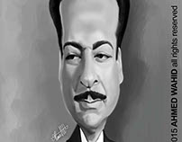 Rushdy Abaza's caricature