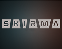 Skirma. Font redesign and interface design