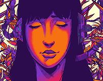 Gig Poster - Cyberpunk Dj - Junglistic