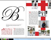 Fashion Magazine Layout