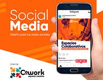 Social Media - Cowork Espacio Creativo Chillán