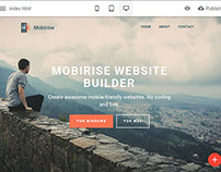 Mobirise Free Website Builder v1.6 is out!