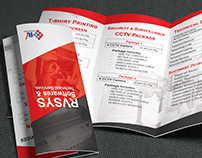 RVSYS Trifold Brochure