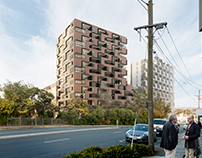 Bell Street Mixed-Use, Ivanhoe, Melbourne
