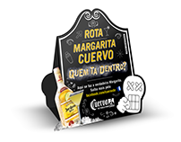 Jose Cuervo visual communication displayed in bars